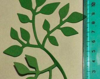 30 leaves die cuts