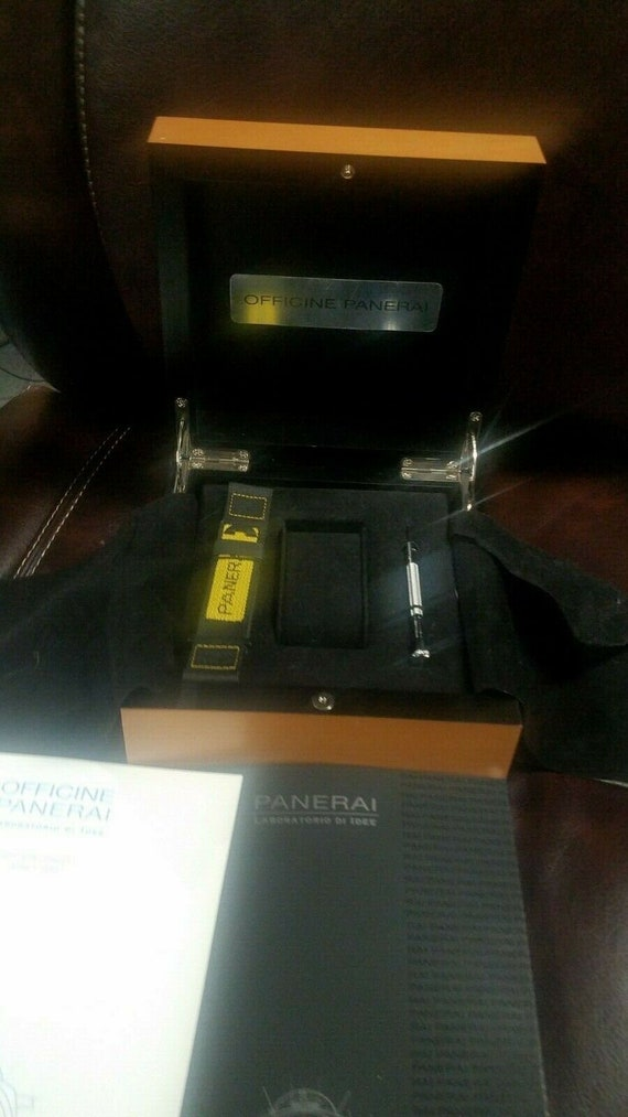 Panerai Watch Box - Watch Band, Watch Tool, 2005 c