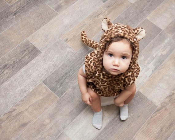 Leopard Kostum Kleinkinder Halloween Kostum Party Kostum Fur Etsy