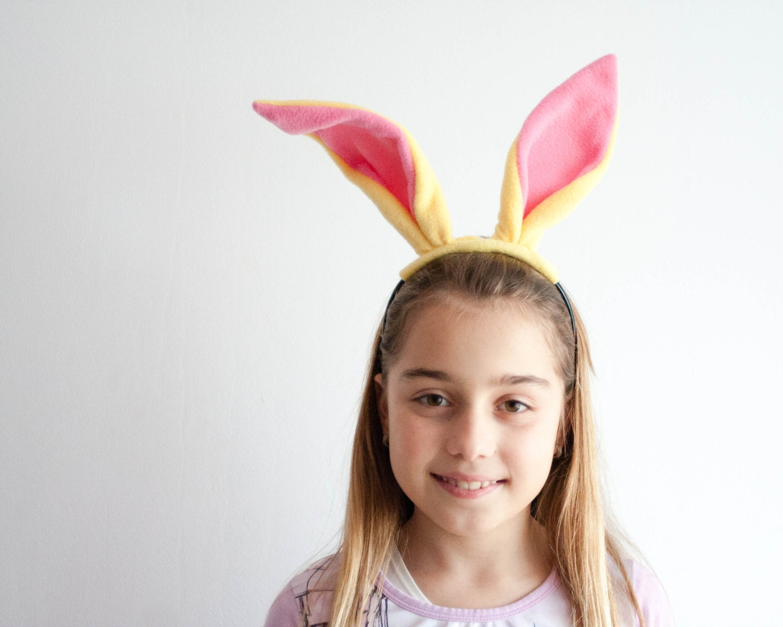 42e9ac5d72b9 Rabbit Ears Headband Bunny Head Band Children s or