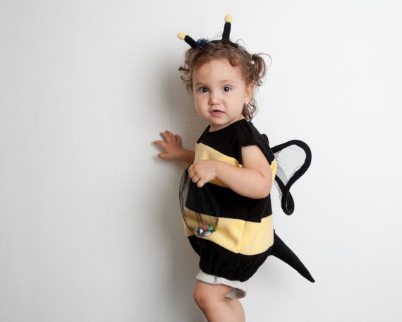Bumble Bee Costume Toddlers Halloween Costume Party Costume Etsy