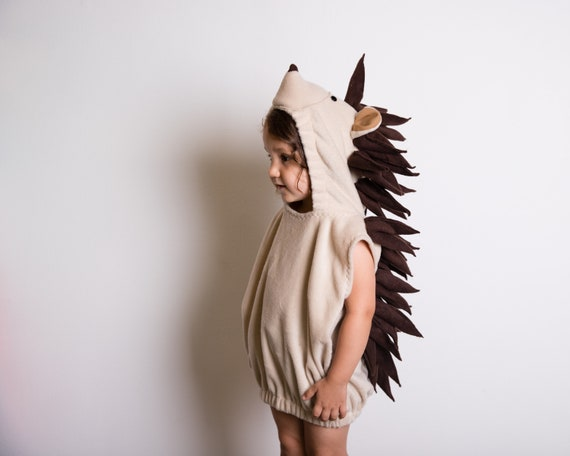 Hedgehog Short Quill Porcupine Halloween Costume Ready To Ship Woodland Creature Animal Toddler Kids