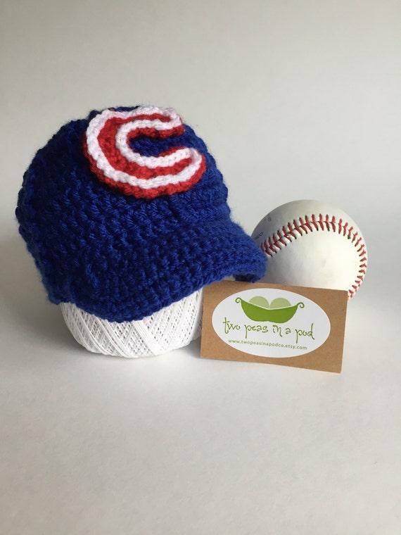 Crochet Cubs hat Cubs hat kids Cubs hat Chicago Cubs hat  c0fde2a4895