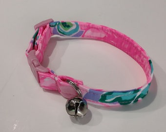 Custom Cat Collar - Lilly Cat Collar - Breakaway Cat Collar - Girl Cat Collar -Pretty