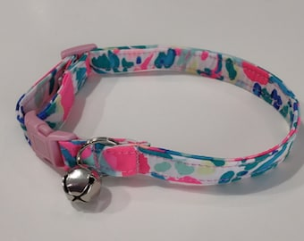 Custom Cat Collar - Lilly Cat Collar - Breakaway Cat Collar - Gypsea -Girl Cat Collar
