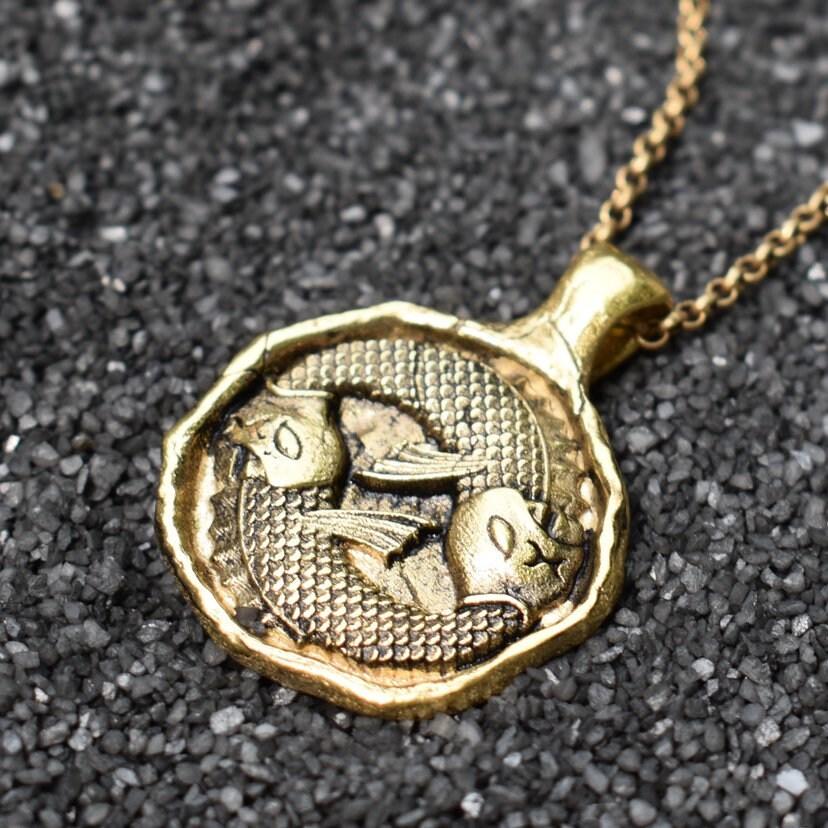 Wax Seal Zodiac Necklace