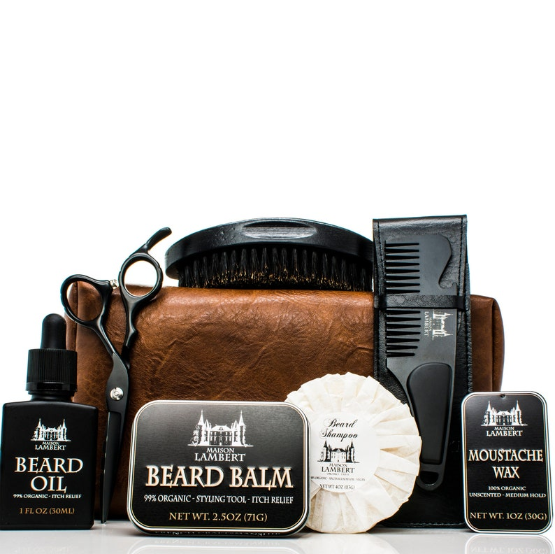 Ultimate Beard grooming Kit  black edition  Beard Care Kit  image 0