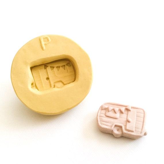 Silicone Mold of RV Camper Silicone Soap Candle Mold
