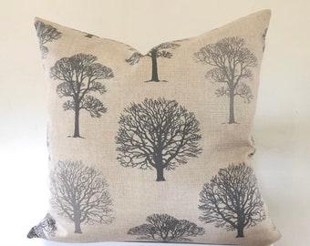 "Cushion Cover Trees , Country farmhouse, UK.    45cm, 50cm   16"" 18"" 20"" 22"""