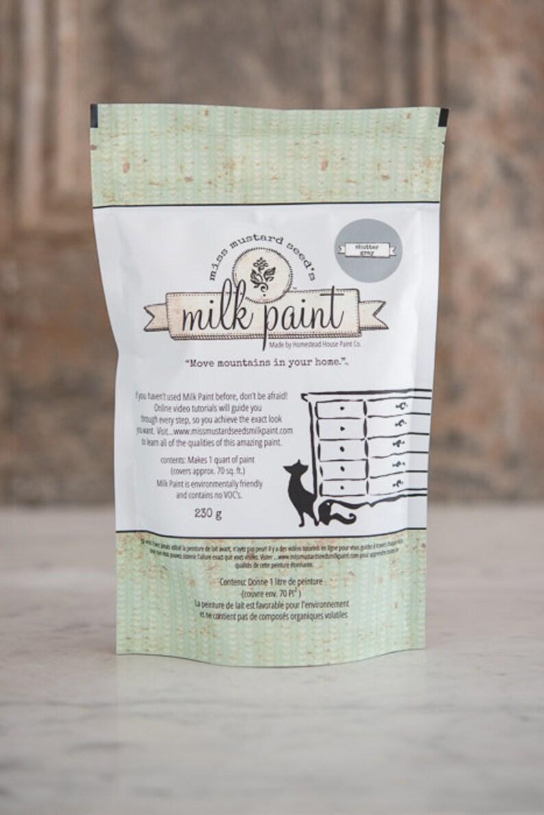 Miss Mustard Seed Milk Paint Shutter Gray | Etsy
