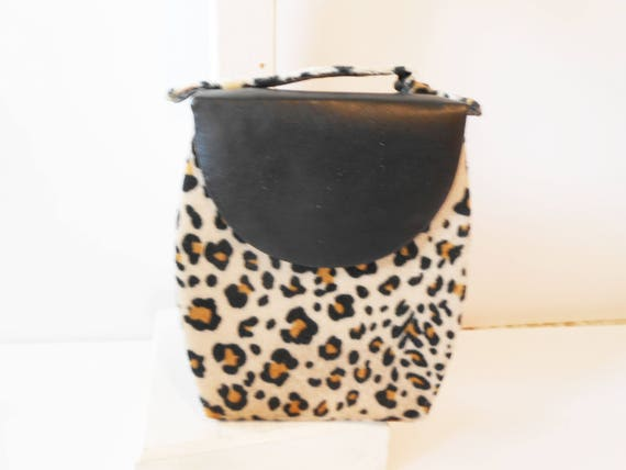 1d10a51a9b57f Vintage Leopard Jewelry Case Glam Jewelry Box in Leopard for