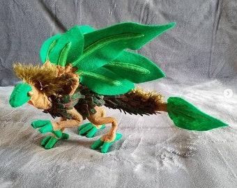 Amphibious Tree Dragon Art Doll