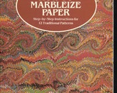 How to Marbleize Paper: Step-by-Step Instructions for 12 Traditional Patterns (Other Paper Crafts) Paperback – 1984