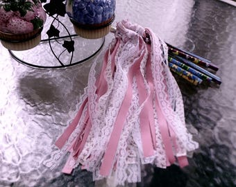 Girl's 12  Wands and 10 Pennant Banner Set