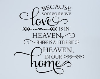 Heaven Wall Decal Etsy