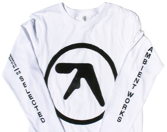 "Aphex Twin ""Selected Ambient Works"" long sleeve T-shirt"