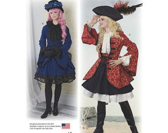 Dr Who cosplay//costumeWomens size 14-22 Simplicity Pattern 8200