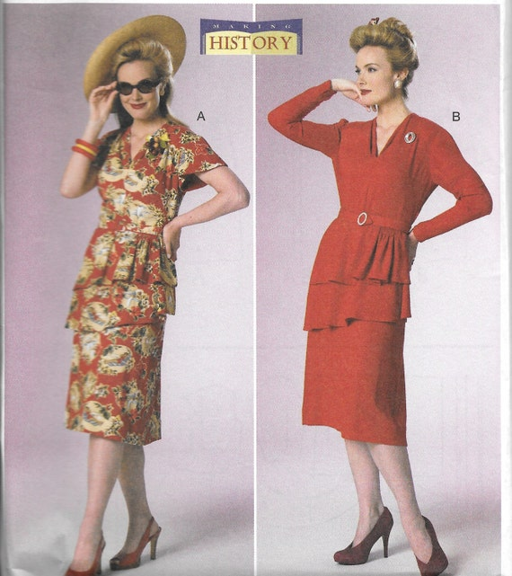 Butterick 6266 Dress Sewing Pattern for Retro Dress New | Etsy
