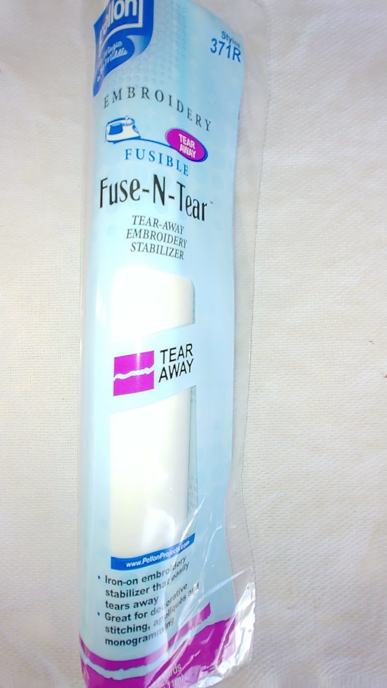 Fuse N Tear Fusible Tearaway 20 x 25 Yd Roll Embroidery Stabilizer