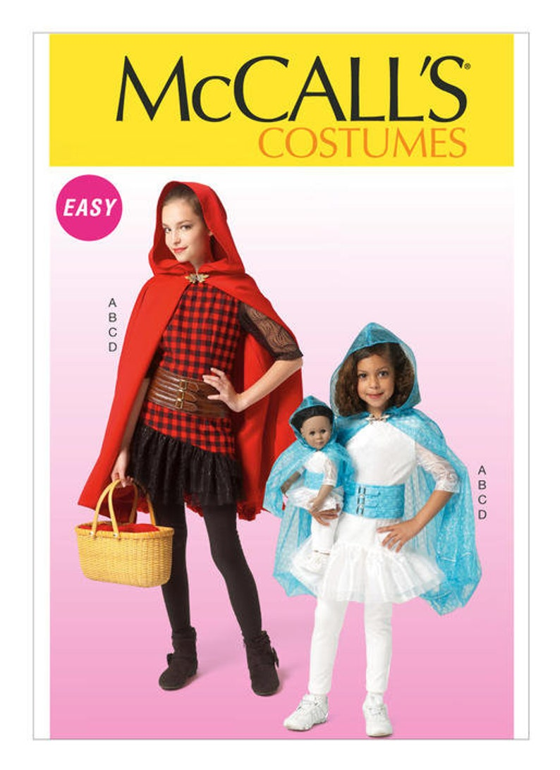 549dead11aff9 McCalls 7035 Children s Girls  Dolls  Matching