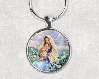 Assumption of Mary Key Chain