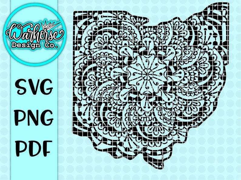 65+ Ohio Mandala Svg – SVG,PNG,DXF,EPS include