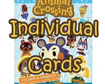 e0a896e9f Series 3 (#201 - 250) Animal Crossing Amiibo Cards -- Individual Cards