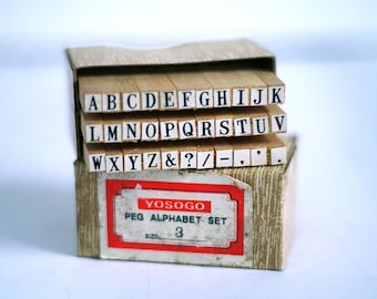 Exceptionnel 1980s Retro Office Supplies. $25.00. Alphabet Rubber Stamp Set Tiny, Small  Typewriter Font Wooden Capital Letters. Crafting, Scrap