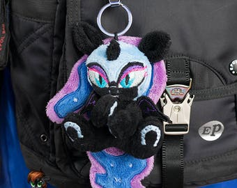 Nightmare moon keychain trinket