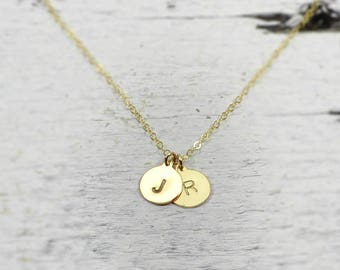 8524db4ffab Gold letter pendant | Etsy