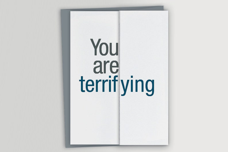 Funny Card For Boss Terrifying