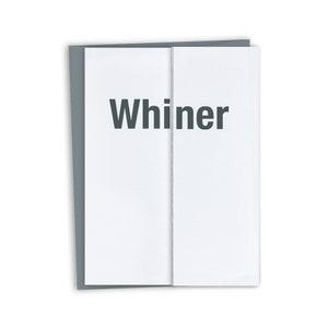 Funny Congratulations Card  Big whoop
