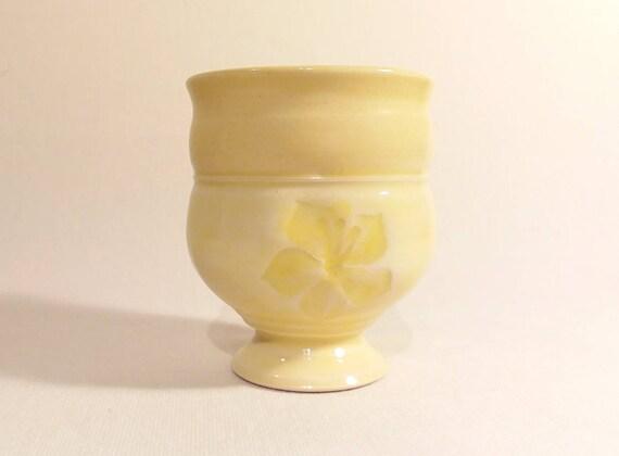 Fancy Palo Verde Flower Tea Bowl