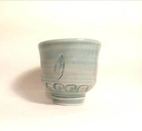 Blue Leaf Tea Bowl