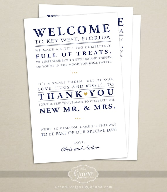 Wedding hotel welcome bag letter wedding welcome bag note etsy image 0 spiritdancerdesigns Choice Image