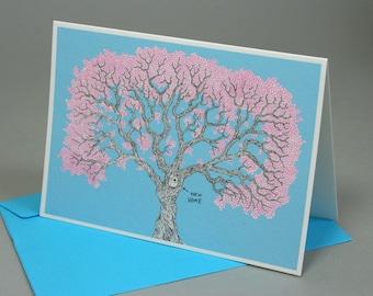 New Home Blossom Tree Card