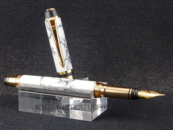 Parker Duofold-Inspired Classic Fountain Pen or Rollerball, 1920s Style