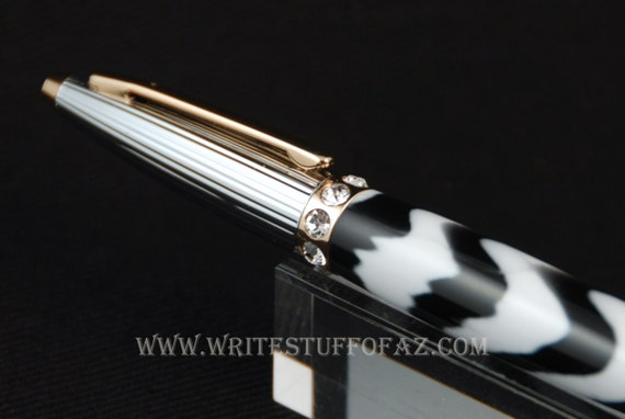 Duchess Twist Pen in Zebra Stripe