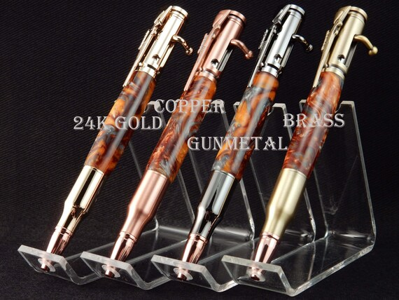 30 Caliber (.308) Bolt Action Pen in Lava Flow