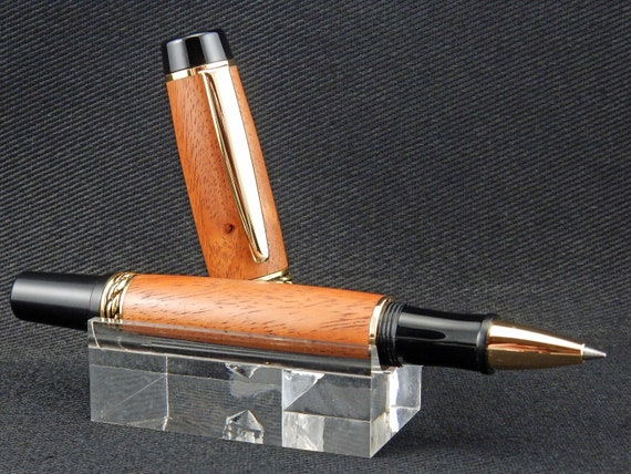 Rollerball or Fountain Pen in Palo Chino