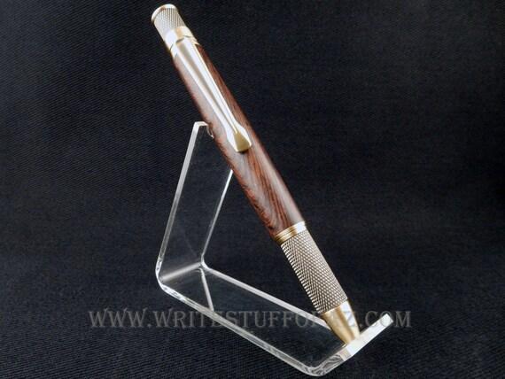 Retro Twist Pen, Burmese Blackwood, Parker Refill