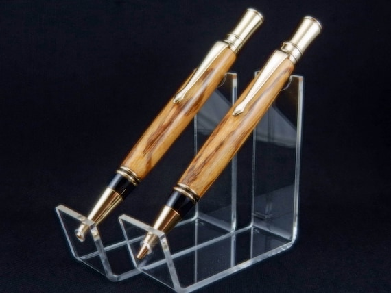 Parker Duofold Inspired Pen and/or Pencil Set in Marblewood
