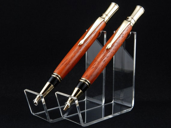Parker Duofold Inspired Pen and/or Pencil Set in Exotic Padauk Wood