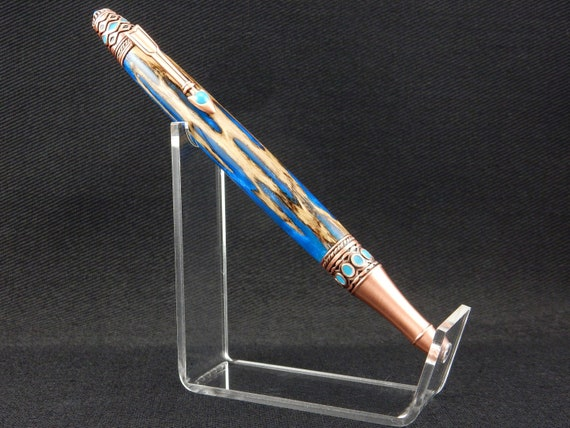 Handmade Arizona Cholla Skeleton Pen, Infused with Resin