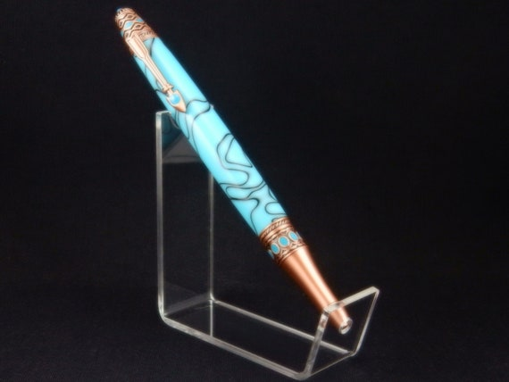 American Southwest Twist Pen in Turquoise, Copper