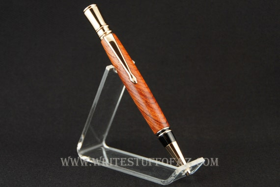 Parker Duofold Inspired Twist Pen in Burmese Rosewood