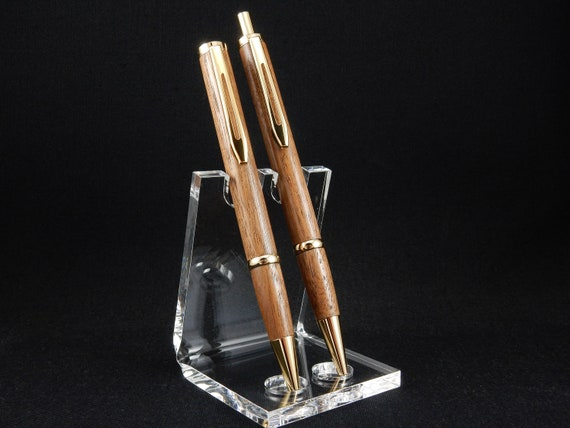 Longwood Pen and Pencil Set in Black Walnut