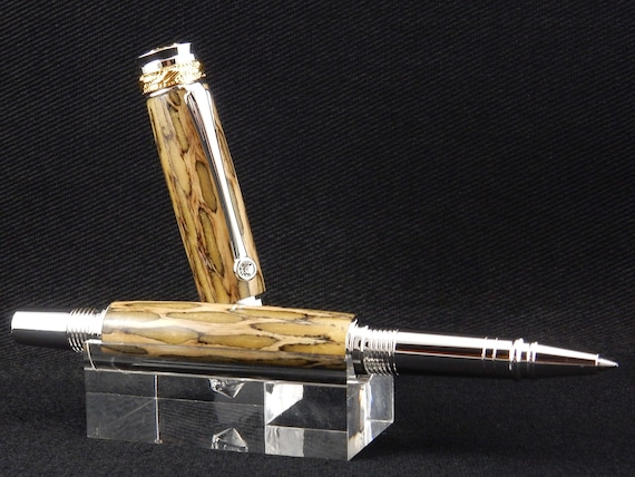 FREE DOMESTIC SHIPPING! - Majestic Jr. Rollerball or Fountain Pen in Arizona Cholla Cactus Skeleton