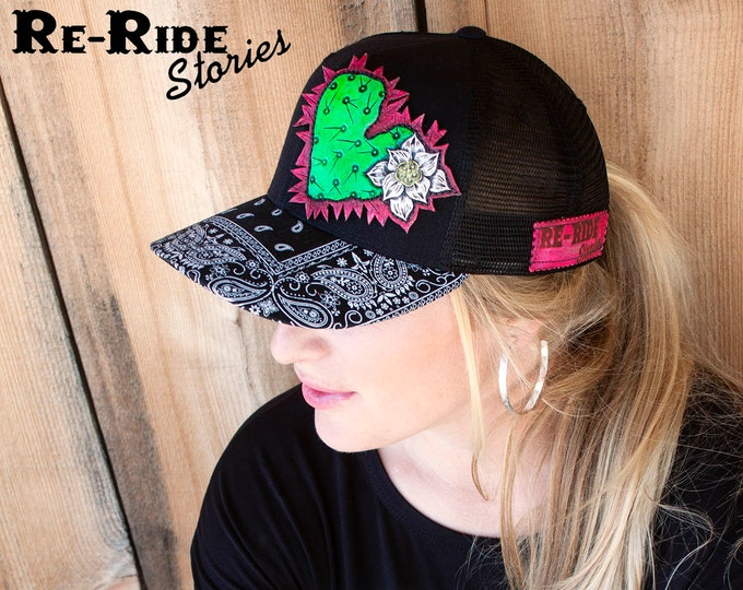 Featured listing image: Cactus Love- Trucker Hat