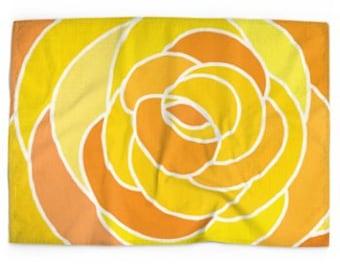 Luxury linen/cotton tea towel 70cm x 50cm
